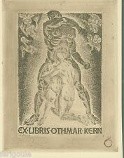 EX-LIBRIS de Othmar KERN par Richard Throll.