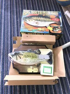 1998 Vintage Big Mouth Billy Bass The Singing Sensation In Original Box