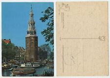 48022 - Amsterdam - Montelbaantoren - alte Ansichtskarte