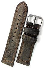 24mm RIOS1931 echt Leder Handmade GERMANY Vintage Used Retro Look UHRBAND BAND