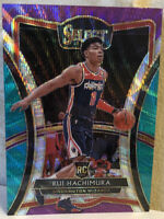 2019-20 Panini Select Premier Level Tri-Color Prizm #187 RUI HACHIMURA RC Rookie