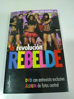 RBD REBELDE LA REVOLUCION REBELDE Album de Fotos Entrevistas LIBRO + DVD - 3T