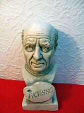 """Buste en plâtre  : """" PICASSO """""""
