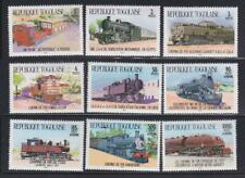 LRT47 - LOCOMOTIVE RAILROAD TRAIN STAMPS TOGO TOGOLAISE 1984 TRAINS MNH