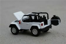 Jeep Wrangler Toy Model Alloy Gift Diecast SUV 4X4 4WD Off Army Car Collectable