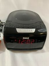 Rca Rp5605-A Digital Am/Fm Stereo Cd Clock Radio w/ Led Display Smart Snooze