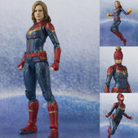 S.H.Figuarts Avengers Endgame Captain Marvel SHF Action Figures KO Infinity Toy