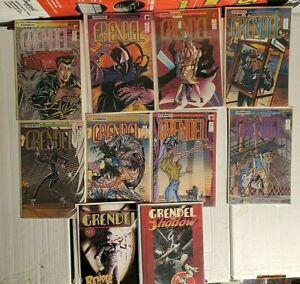 Grendel Lot  2, 3, 4, 5 , 6 , 7, 8, 9, (1986) Comico + VF/NM
