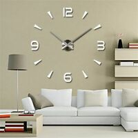DIY 3D Wall Stickers Creative Fashion Large Walls Clock For Home Decorations New