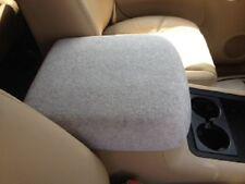 Auto Center Console Armrest Covers (Console Lid Cover) C1 Light Gray Fleece