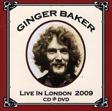Ginger Baker - Live at the Jazz Cafe 2009 [New CD] Bonus DVD, PAL Region 2, UK -