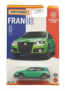 MATCHBOX HBL10 BEST OF FRANCE VOLKSWAGEN GTI VR6 8/12