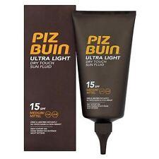 Piz Buin Ultra Light Dry Touch Sun Fluid SPF 15 150 ml - Non Greasy
