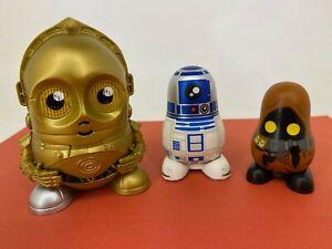 Hot Toys - Star Wars - Chubby -Series 1 Nesting Dolls - C-3PO, R2D2 & Jawa