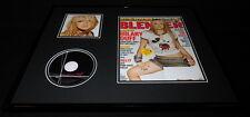 Hilary Duff 16x20 Framed Original 2004 Blender Magazine Cover & Cd Set