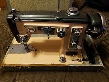 1960 Brother Sewing Machine Select-O-Matic HZ3-B91 in Travel Case