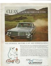 1962 CADILLAC in HARRISON AIR CONDITIONING  Vintage Magazine Print Ad (126)