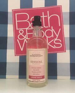 (1) Bath & Body Works Aromatherapy Sensual JASMINE VANILLA Pillow Mist 4oz NEW