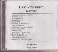 destiny's child survivor cd promo beyounce