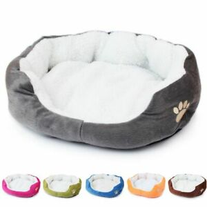 50*40cm Cat Bed Sleeping House Warm Cotton Super Soft for Cats Dogs Pets House