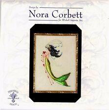 Mirabilia Nora Corbett Counted Cross Stitch Chart ~ MERMAID VERDE #192 Sale
