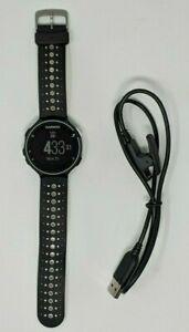 Garmin Forerunner 230 GPS Running Watch - Black/White w/ Charging Cord
