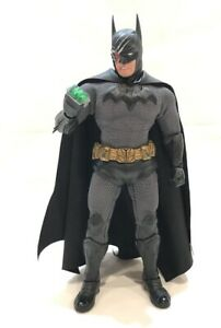 SU-UW-BAT: 1/2 Black Faux Leather Trunks for Mezco One:12 Batman (No figure)