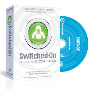 SOS Switched On Schoolhouse Science Grade 10 2016 Edition Biology Software NEW!