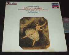 TCHAIKOVSKY Ballet Suites KARAJAN LP LONDON JUBILEE IMPORT