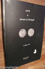 Asta di Monete e Medaglie 11 giugno 1998 RAFFAELE NEGRINI studio numismatico MI