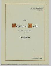 Margherita di Savoia regina d'Italia a Covigliaio (Firenze) 31 maggio 1924