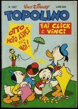 TOPOLINO N° 1307 - 14 DICEMBRE 1980 - CONDIZIONI OTTIMO - EDICOLA