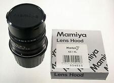 Mamiya 7 II n 4/65 l 65 65mm f4 4 6x7 rangefinder near New casi nuevo