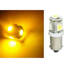 1 Yellow Amber 5-LED Inside Dash Panel Cluster Gauge Clock Glove Box Light Bulb