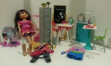 Huge lot Mattel Dora's Explorer Girls Dora Link 13in Doll w Accessories 5 sets!!