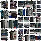 Mens Socks Lot Size 10-13 or 9-11 Assorted Random Mixed Color & Design Bulk Lots