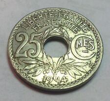 25 CTS LINDAUER DE 1914 SOULIGNE  @TTB@REF 611153