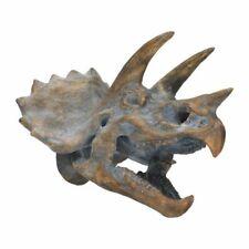 More details for large resin replica freestanding triceratops skull 34.5cm