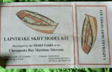 Lapstrake Skiff Wood Model Kit,Chesapeake Bay Maritime Museum Model Guild