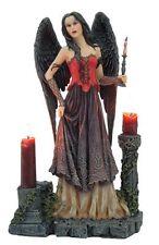 Gothic Fantasy Figur Dark Angel -Vulptura- mit Säulen