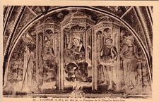 LUCERAM 13 fresques de la chapelle saint-gras