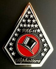 More details for us navy vfa-14 'tophatters' f/a-18e super hornet squadron challenge coin