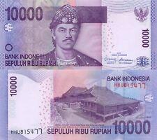 Indonesia 10000 Rupiah (2011) - Rumah Limas Building/p150b UNC