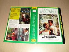 JAQUETTE VHS La Sirène du Mississipi Jean-Paul Belmondo Catherine Deneuve