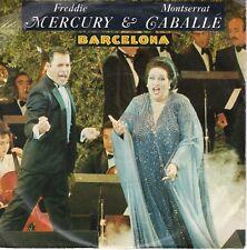 7inch FREDDIE MERCURY & MONTSERRAT GABALLE barcelona GERMAN 1987 EX  (S0747)