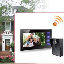 0.3 Mega 7'' LCD TFT Videocitofono Wireless Video Doorbell Campanello Monitor DE