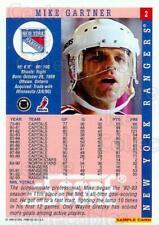 1993-94 Score Promos Samples #2 Mike Gartner