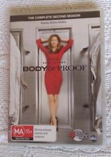 BODY PROOF: THE COMPLETE SECOND SEASON (DVD, 4-DISC) R-4, LIKE NEW, FREE POSTAGE