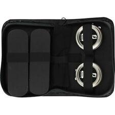 NEW FootJoy Travel Shoe Care Kit Brushes Brown & Black Polish