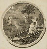 CHODOWIECKI (1726-1801). Bärbel und die buhlerischen Mönche; Druckgraphik1